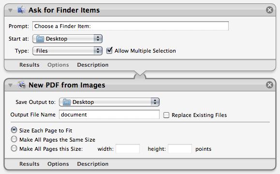 画像ファイルからPDFの統合